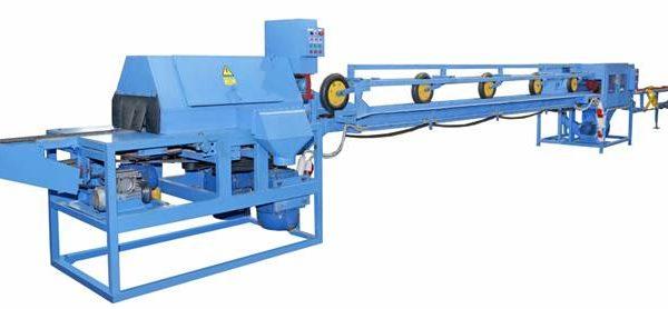Линия для переработки горбыльной доски ЛПГ-150