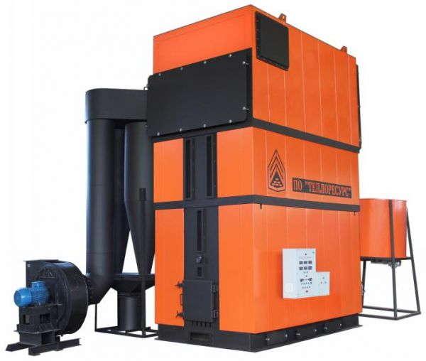 Промышленные водогрейные котлы серии КМТ (Ковров) мощностью от 1,0 МВт до 5 МВт