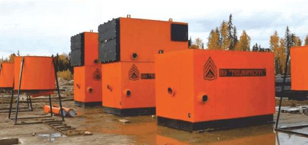 Промышленные водогрейные котлы на опилках, щепе и прочих отходах древесины КТУ (Ковров)