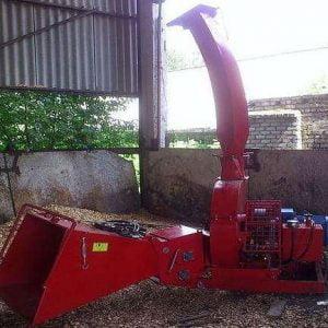 Измельчитель древесины с приводом от электродвигателя МРГ-250Е/250ЕТ. Гидравлическая подача