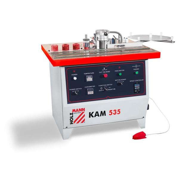 Кромкооблицовочный станок KAM 535 Holzmann (Австрия)