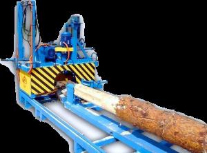 Станки для обработки бревен и бруса