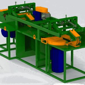 Горбыльно-перерабатывающий станок ГП500