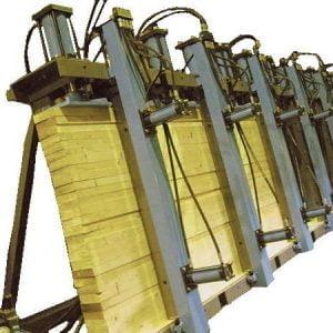 Пресс для склеивания строительного и оконного бруса SL250-9G