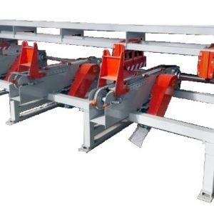 Торцовочный станок проходного типа СТП6000