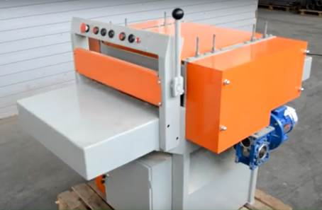 Многопильный кромкообрезной станок Алтай-ПКС500 с плавающей пилой