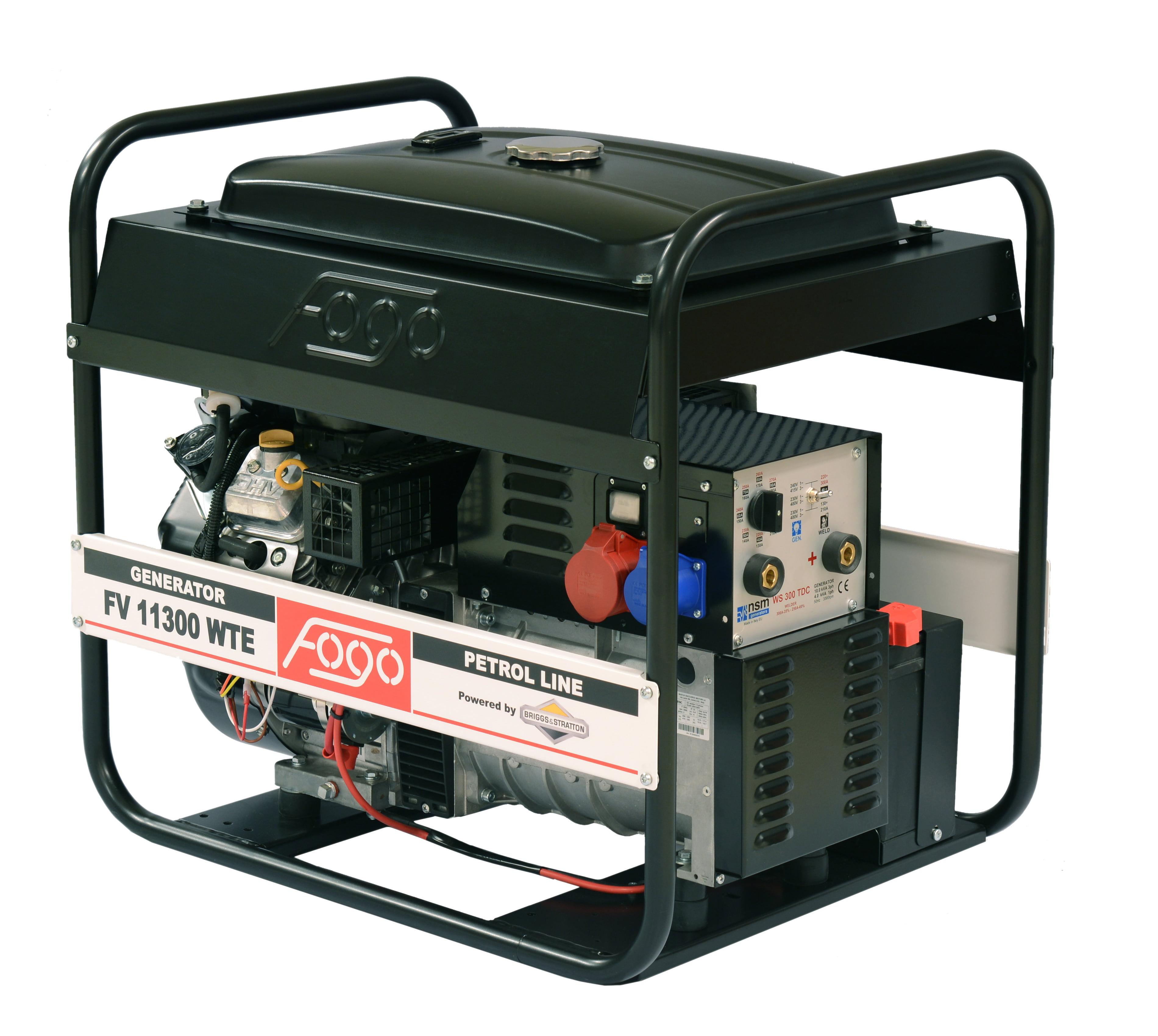 Трехфазные генераторы FOGO 400V IP23