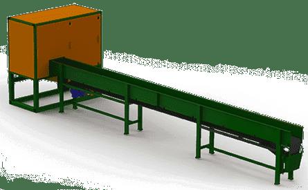 Станок автоматической торцовки горбыля Алтай-ТГ550