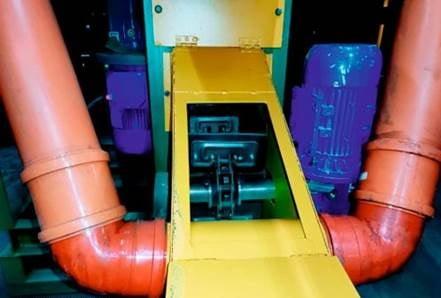 Станок для переработки тонкомера СПТ-280т